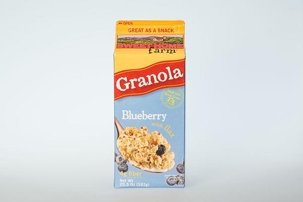 Granola Blueberry