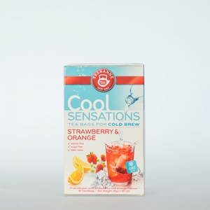 Teekanne Cool Sensations Strawberry Orange