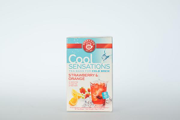 Teekanne Cool Sensations Strawberry Orange